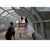 Commercial Window Film Tint Application